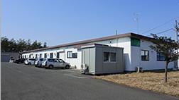 岩手県にある東北営業所と江刺工場